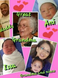 Nerissa and family